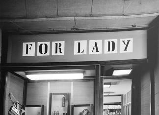 """Negozio """"For Lady"""" - Via Dante - anni 60"""
