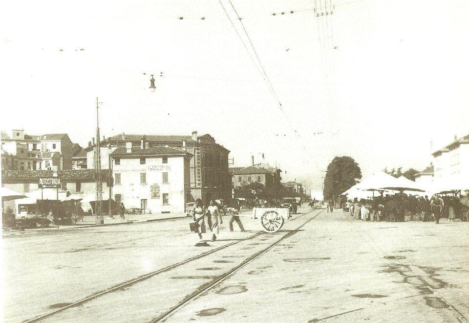 Via XX Settembre nel 1932