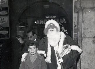 """""""Babbo Natale sotto i portici"""" - 1958"""