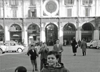"""""""Io e mio fratello Diego"""" - Piazza della Loggia 1961"""