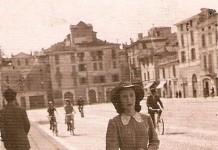 mia nonna in piazzale Arnaldo Brescia