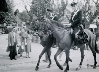 """""""Carabinieri a cavallo"""" - Castello di Brescia 1955"""