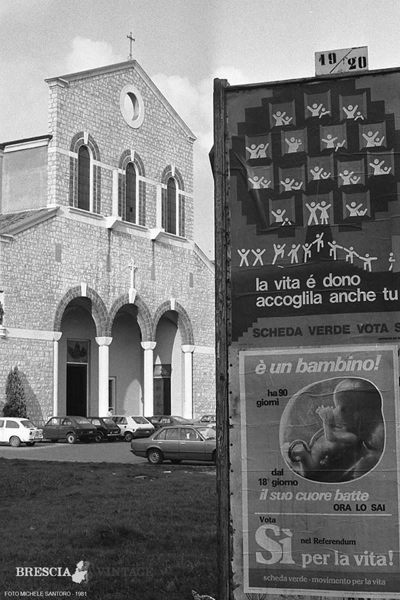 Chiesa quartiere Lamarmora Brescia