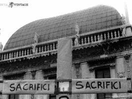Sacrifici in Piazza Loggia