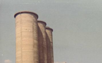 I silos delle calachere di Campagnola di Concesio nel 1970
