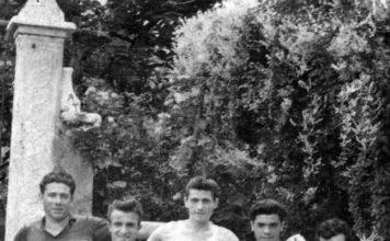 Calciatori di Collebeato anni 50