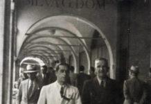 Corso Zanardelli a Brescia nel 1933