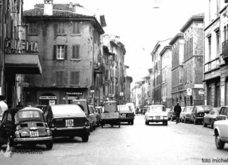 """Salumeria Ussoli"" - Via Elia Capriolo - anni '70"