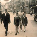 Via San Faustino anni 60