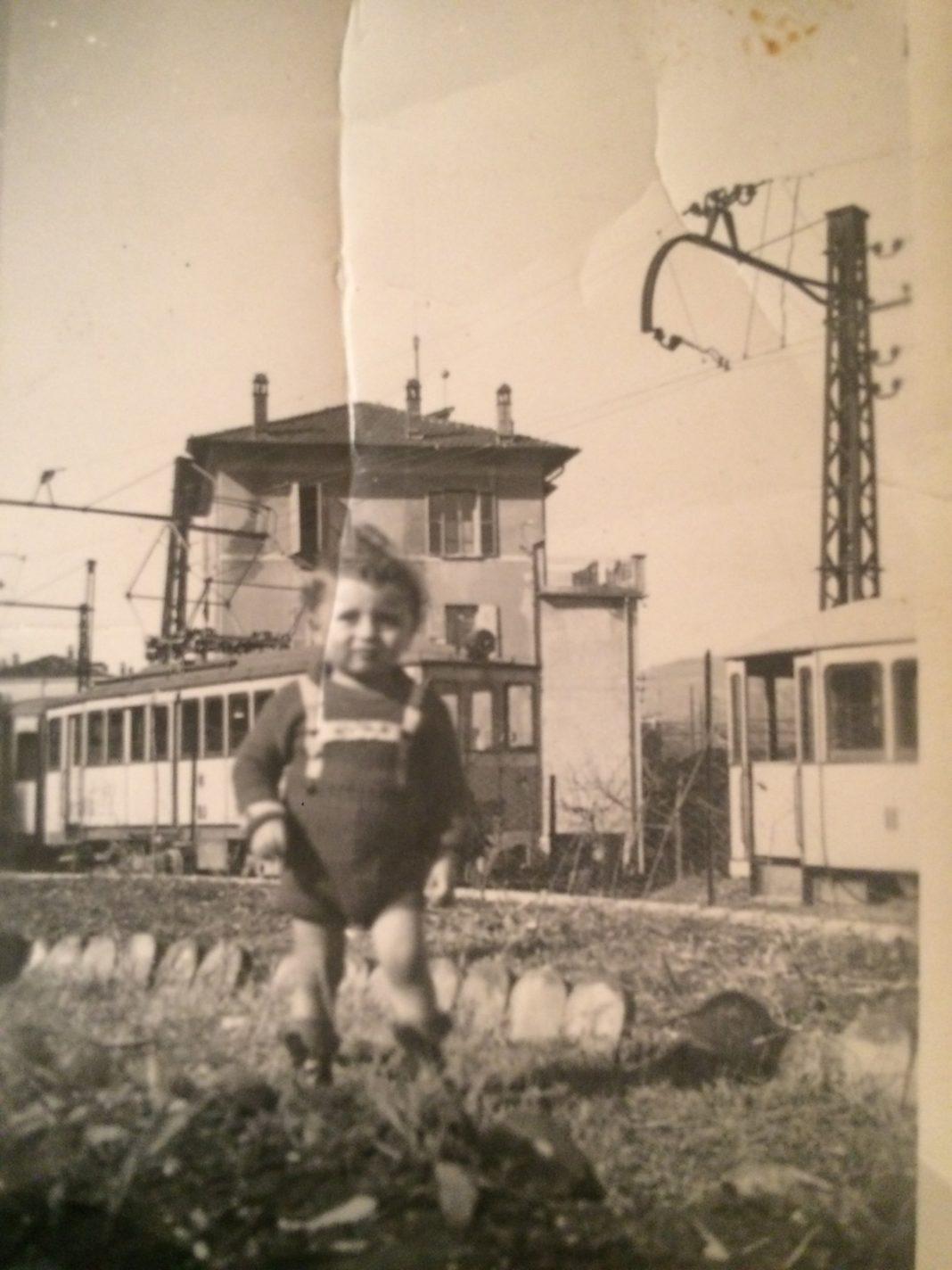 Anni trenta mio padre andava a Salo' con il tram.