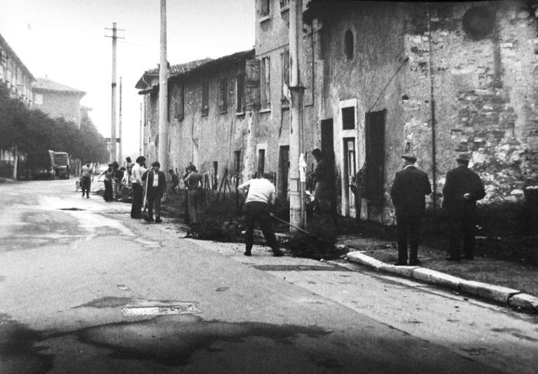 """""""Operazione quartiere pulito"""" – Sant' Anna – 1970"""